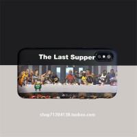 恶搞nba的晚餐xs max手机壳乔丹苹果78plus软套xr6 i6/6s 恶搞后的晚餐