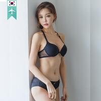 【韩国直邮】舒适聚拢性感内衣文胸内裤套装配两套肩带 DOROSIWA_02 Jessica Angel lingeri