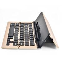 无线蓝牙键盘安卓手机通用苹果ipad平板电脑小米三星华为办公家用外置可充电折叠式无声静音迷你轻薄外接