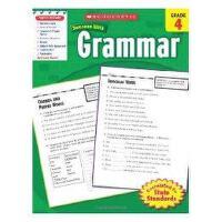 现货英文原版 学乐必赢 SCHOLASTIC SUCCESS WITH GRAMMAR, GRADE 4 小学生英语学习