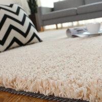 地毯卧室纯色床边现代简约客厅茶几北欧加厚房间长方形绒定制