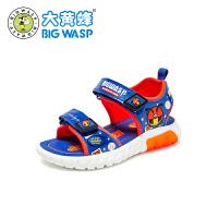 大黄蜂男童鞋 宝宝凉鞋幼童学步鞋2020夏季新款1-3岁儿童软底鞋子