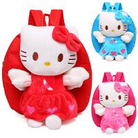 幼儿园双肩包1-2-3-4岁宝宝小书包可爱背包卡通包猫男女儿童包