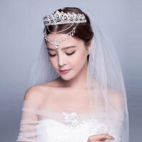 新娘皇冠头饰镶钻王冠婚纱配饰结婚发饰首饰品