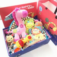 婴儿用品宝宝玩具礼盒满月百天玩具礼盒套装婴幼儿游戏毯母婴礼品 66cm(0-2岁)
