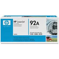 惠普原装正品 hp C4092A黑色激光打印硒鼓 hp92A墨粉盒 惠普hp LaserJet 1100 3200打印