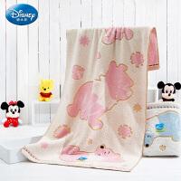 迪士尼(Disney)毛巾家纺 维尼小熊3件套毛巾/浴巾礼盒装套装 男女宝宝 儿童毛巾/婴儿浴巾/方巾