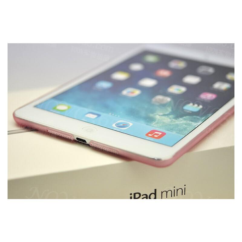 多彩 超轻薄 苹果平板 iPad mini2 韧性背壳 免划痕 磨砂 水晶套 发货周期:一般在付款后2-90天左右发货,具体发货时间请以与客服协商的时间为准