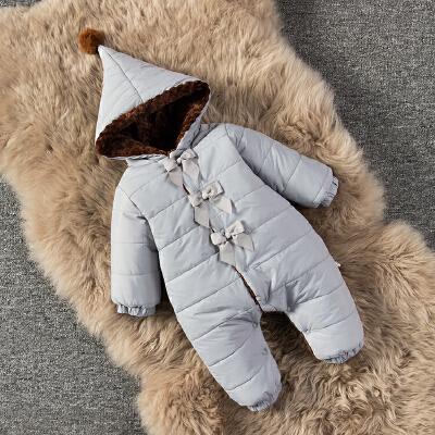 婴儿连体衣服男宝宝0新生儿3个月1秋冬季冬装6加厚外出抱衣外套装 发货周期:一般在付款后2-90天左右发货,具体发货时间请以与客服协商的时间为准