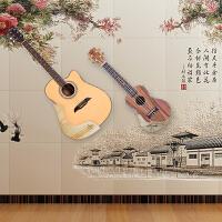 展示斜挂贴墙架放置支架琴 免打孔吉他尤克里里架子挂钩墙壁挂家用