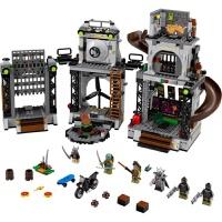 忍者神龟系列 海龟巢穴入侵 忍者龟基地 拼装积木玩具10278 博乐10278