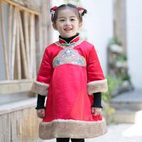 唐装儿童过年喜庆宝宝装女中国风童装新年装小女孩拜年服汉服女童