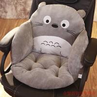 卡通护腰靠垫靠枕孕妇腰枕办公室腰靠椅子坐垫椅垫加厚阳台电脑椅