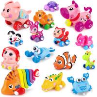 儿童玩具 益智玩具 拼装玩具 玩具车 会跑的发条玩具上弦上链男孩女小宝宝儿童0-1岁3婴儿益智6-12个月