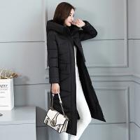 棉衣女冬季新款羽绒中长款过膝棉袄加厚韩版修身学生外套