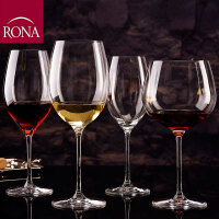 RONA 原装进口无铅水晶玻璃畅饮葡萄酒杯 高脚杯 红酒杯 香槟杯 4种容量 2只装