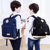 巴布豆书包儿童书包男孩轻便减负护脊双肩包小学生1-3-5-4-6年级