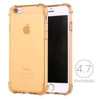 iphone6手机壳6s苹果6plus手机壳硅胶6P潮男透明软胶防摔新女款套