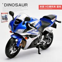 美驰图1:12宝马杜卡迪合金机车组装拼装摩托车玩具模型小摩托迷你 拼装版 本田honda