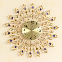 欧式创意静音石英钟钟表挂钟客厅 装饰时钟现代简约个性艺术挂表