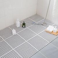 浴室防滑垫厕所家用厨房隔水脚垫淋浴房洗澡垫子卫生间拼接地垫
