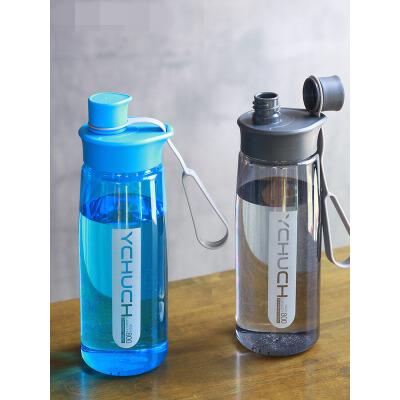 大容量太空杯便携随手杯创意杯子塑料杯运动水杯学生过滤水壶jg3 小容量大身材