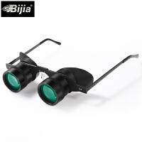 望远镜高清镜轻便眼镜式头戴眼镜10倍看漂拉近