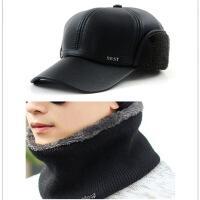 №【2019新款】冬天带的 男冬天包头帽护耳冒带口罩围脖中老年人戴防风遮帽子