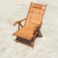 竹躺椅竹摇摇椅折叠椅子家用午休椅凉椅老人休闲逍遥椅实木靠背椅