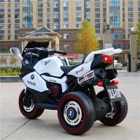 儿童电动摩托车宝宝电动车小孩三轮车遥控玩具车可坐人童车2-4岁