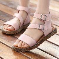 女童凉鞋儿童公主鞋中大童宝宝沙滩鞋童凉鞋小女孩