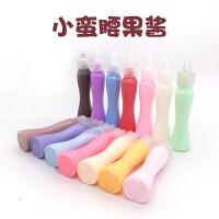 【小蛮腰仿真果酱】奶油胶水diy材料彩虹冰淇淋食玩15ml酱汁