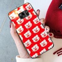 三星S7手机壳直屏s7玻璃sm-g9308套smg9300开心猪猪g930a冬天g930f本命年g9