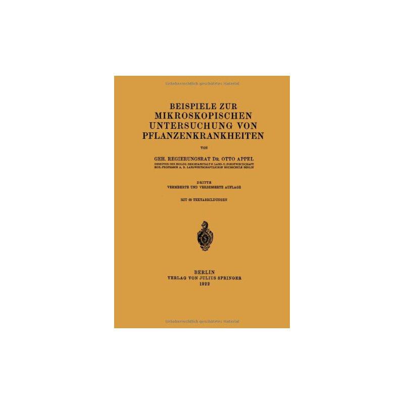 【预订】Beispiele Zur Mikroskopischen Untersuchung Von Pflanzenkran... 9783642895005 美国库房发货,通常付款后3-5周到货!