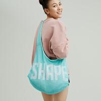 趁早SHAPE 运动单肩 背包女 户外健身跑步 手提包 瑜伽包