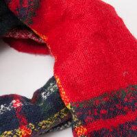 【全场2件2.5折,到手价:17.5】美特斯邦威围巾女士经典学院格纹长巾