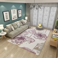 北欧地毯简约现代抽象客厅沙发茶几卧室床边地毯样板间可水洗地毯
