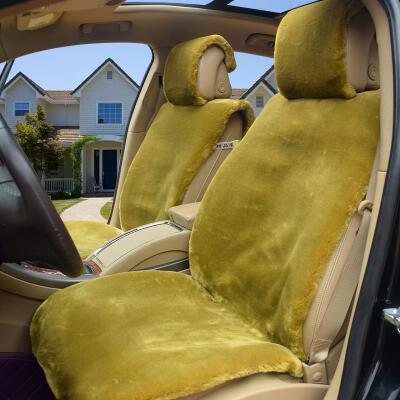汽车座套冬季通用短毛绒全包座套毛绒棉车套保暖座套轿车毛套