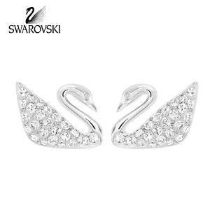 SWAROVSKI/施华洛世奇 经典天鹅Swan系列耳环 1116357