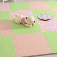 宝宝加厚爬行垫田园风拼接拼图泡沫地板垫子地垫婴儿童无味防潮垫