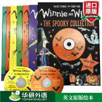 女巫温妮与黑猫威尔伯 幽灵系列 英文原版绘本 Winnie the Witch Winnie and Wilbur T