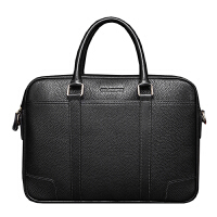 新款头层牛皮男包手提包横款真皮男士商务公文包时尚电脑包大容量