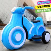 新款儿童太空电动踏板摩托车 带音乐男女宝宝可坐电动三轮摩托车a1111
