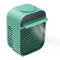 荣事达(Royalstar)冰立方水冷风扇 迷你冷风机 水冷小风扇冷风扇 学生便捷式USB双电池可充电降温神器 大风力