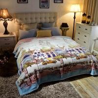 ???云毯双层加厚保暖毛毯被子双人冬季珊瑚绒床单 200cmx230cm【双层加厚】
