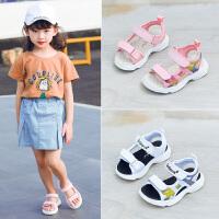 女童凉鞋夏季新款中大童女孩公主运动沙滩鞋儿童鞋子