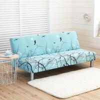 四季通用沙发床套折叠无扶手弹力沙发套罩布艺沙发垫全包套子