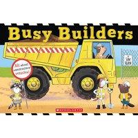 英文原版童书 Busy Builders 忙碌的建造者 【纸板书 3-8岁】