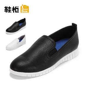 达芙妮集团 鞋柜秋季一脚蹬舒适柔软休闲女单鞋