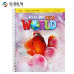 Explore Our World Level 1教师用书 原版正品美国国家地理小学英语教材 含光盘